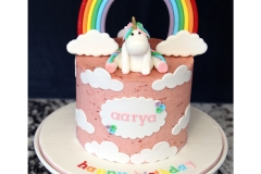 unicorn cake rainbow birthday