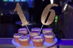 Kate Spade Cupcakes set up