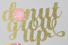 Donut-Grow-Up-Topper
