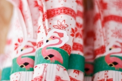 Flamingo design paper napkin ring