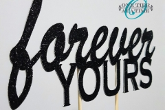 Forever-Yours-Cake-Topper