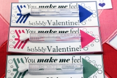 Valentine's Day Bubbles Cards
